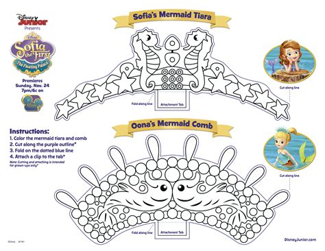 sofia the crown template color sofia s floating palace coloring pages disney junior