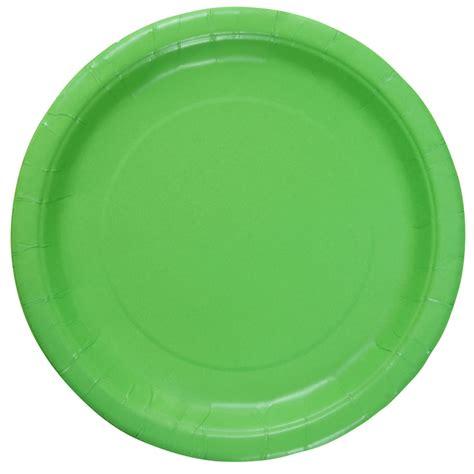 Paper Plates - celebrate it solid color paper plates 9 quot