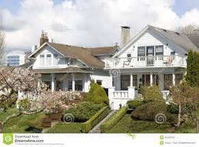 Washington State House by Nice Houses Neighborhood Stock Photo Image 30420070