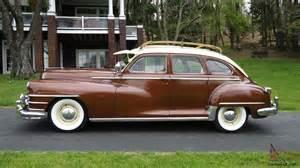 Cadillac Of Plymouth 1948 Chrysler Traveler Dodge Desoto Plymouth Mopar