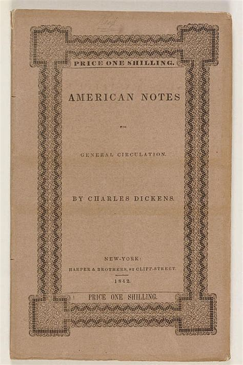 charles dickens biography notes dickens charles amercan notes for general circulation ne