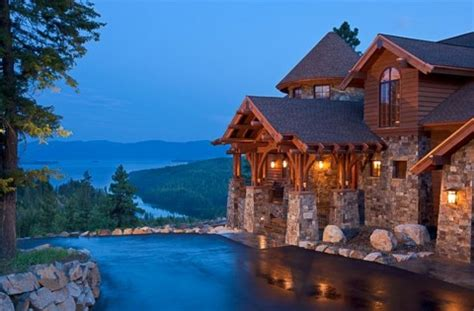 new house in sand point cast architecture mountain style home in sandpoint idaho mountain