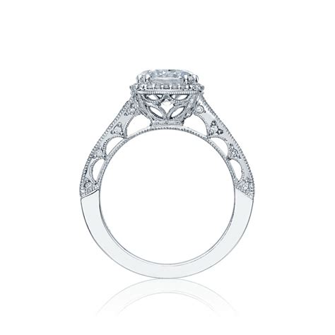 tacori crescent brilliant cut halo