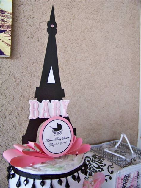 Eiffel Tower Baby Shower Cakes by Themed Baby Shower Eiffel Tower Cake Themed Baby Shower