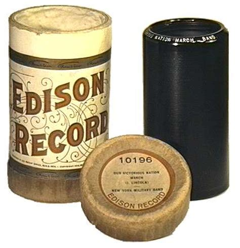 Wax Cylinder   tinfoil com early recorded sounds wax cylinders
