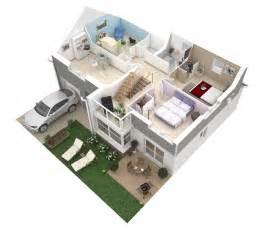 cuisine plans d d appartements studios maisons plus immo