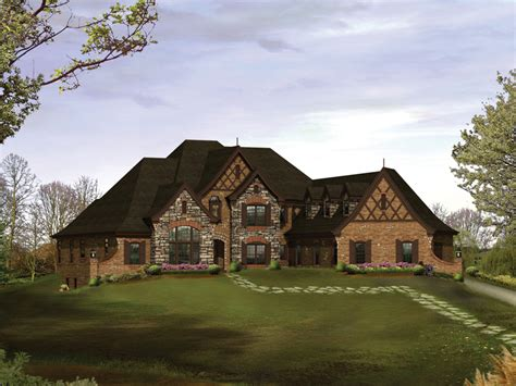 old english tudor house plans westershire place luxury home plan 007d 0202 house plans