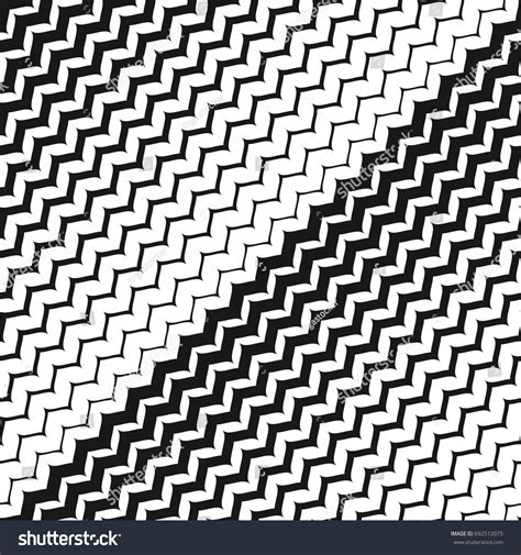 diagonal zig zag pattern diagonal zigzag lines seamless pattern vector stock vector