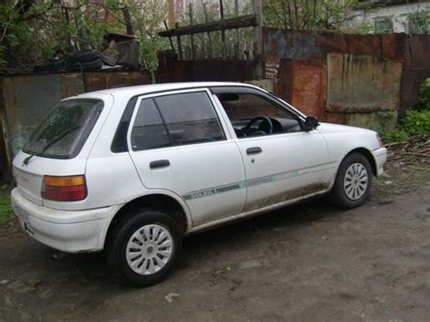 toyota starlet 1991 toyota starlet pictures 1331cc gasoline ff