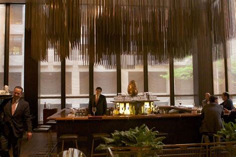 Dining Room Bar by Saying Farewell To The Four Seasons Restaurant In Nyc