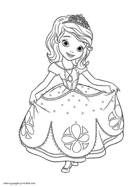 sofia the coloring pages disney coloring pages free disney best free
