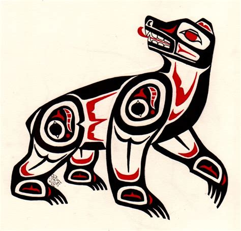 haida tattoo animal meanings pin by chelsea curtis on haida animal art pinterest