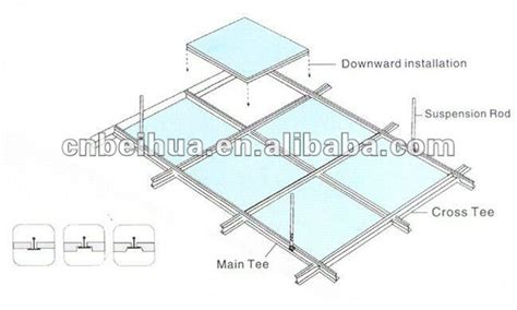 Suspended Ceiling Parts Suspended Ceiling Installation View Suspended Ceiling