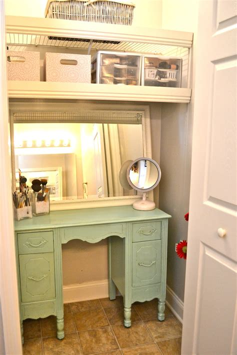 Closet Vanity liz bathroom closet re do