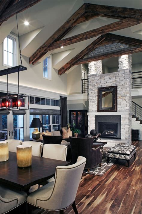 Modern House Designs And Floor Plans 65 unique cathedral and vaulted ceiling designs in living