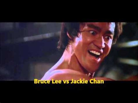 jackie chan real life bruce lee vs jackie chan real match youtube