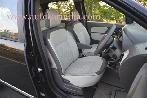 renault lodgy seating india spec renault lodgy gets exclusively developed rear ac