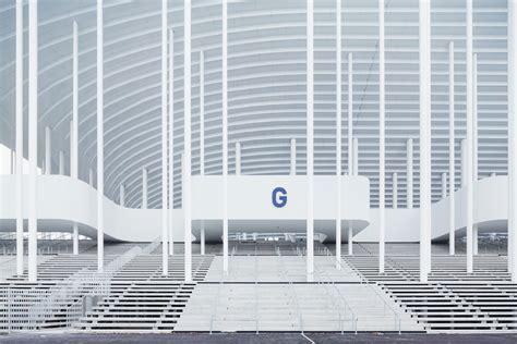 Cabinet Sogea by Die Drei Architektonischen Hauptelemente Treppensockel