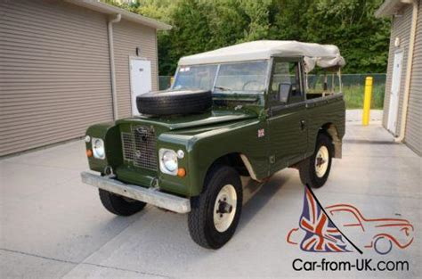 land rover defender convertible for sale 1970 land rover defender series 2a convertible diesel