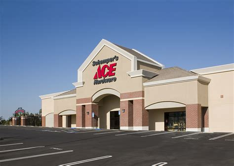 ace hardware up town center schempers ace hardware and retail center huff construction