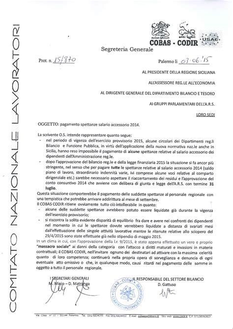 lettere di sollecito pagamento sindacando il di benedetto mineo dei