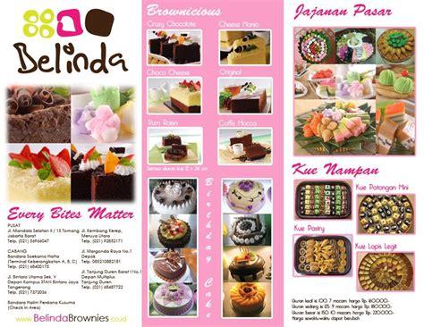 contoh design label kue humayra 4 absolute design brosur toko kue