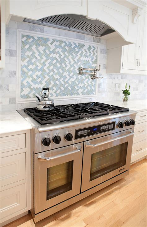 Kitchen Range Backsplash Kitchen Range Backsplash Photos Hgtv Herringbone