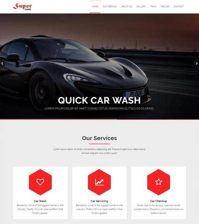36 Premium Bootstrap Html5 Templates Mega Bundle Webthemez Auto Detailing Website Templates
