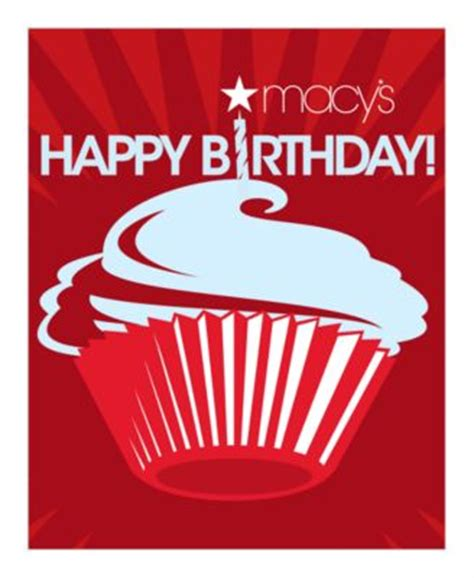 Macys Online Gift Card - birthday presents e gift card macy s