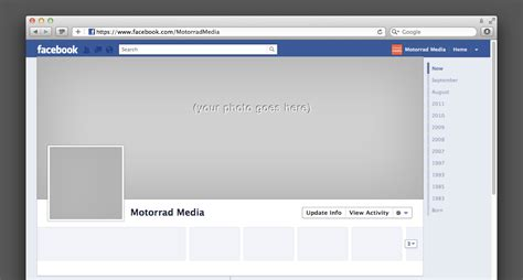 facebook page template e commercewordpress
