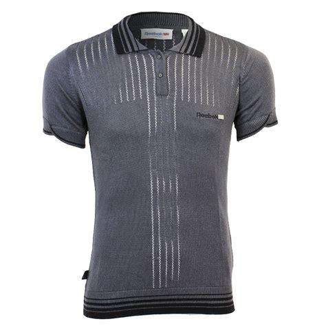 Tebok Polos reebok polo soft black menswear mens polo