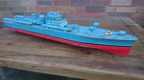 radio controlled mtb boats vintage 1960s scratch built wooden ww2 radio control mtb