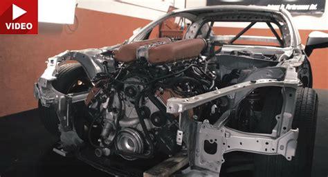 Toyota V8 Engines Someone Stuffed A V8 Into A Toyota 86