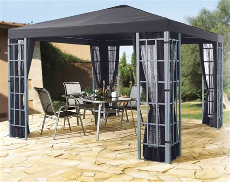 pavillon alu grasek pavillon 187 alu optik 171 in 2 gr 246 223 en anthrazit