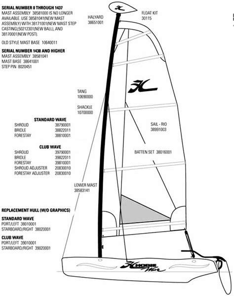 Hobie 16 Parts Diagram