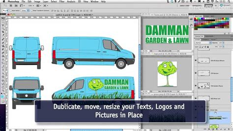 vehicle wrap templates for photoshop using car n truck vehicle templates with photoshop youtube