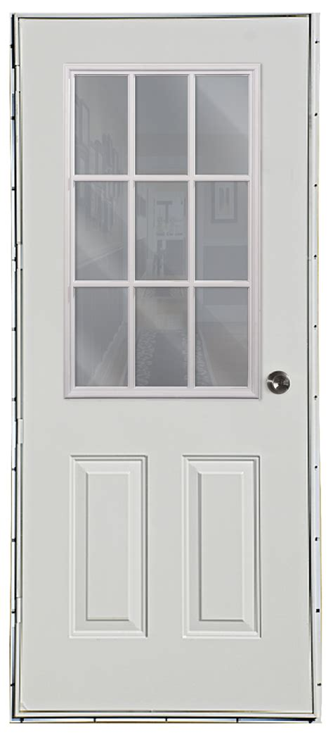 9 Lite Door by Six Panel 9 Lite Outswing Door American Mobile Home Supply