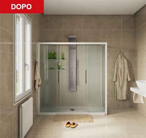 docce remail prezzi remail trasformazione vasca in doccia