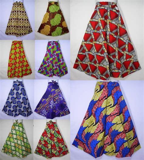 ankara skirt wax fabric skirt maxi wrap skirt
