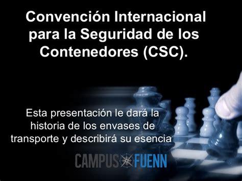 convenio internacional sobre la seguridad de los convenio de aduanero de contenedor