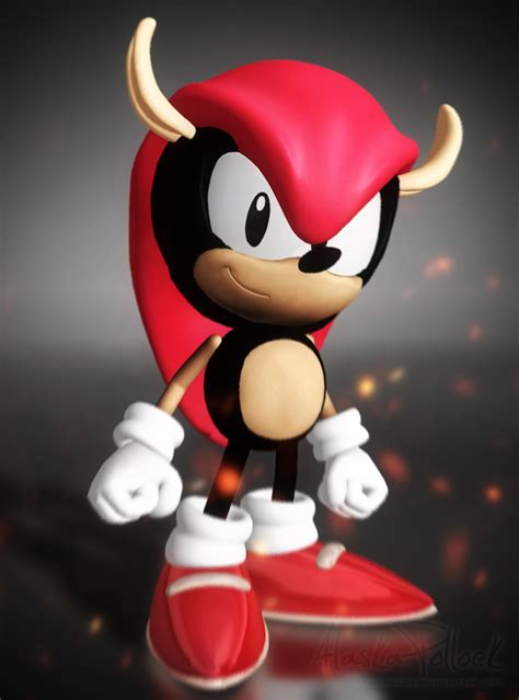 oc classic mighty  armadillo  render sonicthehedgehog