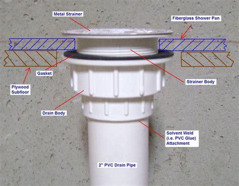 bathtub drain replacement instructions best 25 shower drain installation ideas on pinterest
