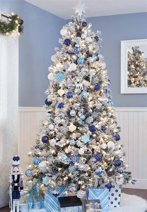 decorating for christmas with gold blue and gray the home depot canada