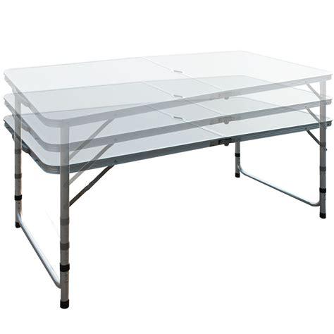 lightweight aluminum folding table 4ft 1 2m lightweight aluminum portable folding cing