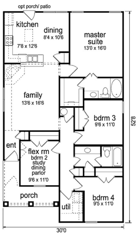 good 450 square foot apartment floor plan 8 450 450 sq ft floor plan ranch style house plan 4 beds 2 baths
