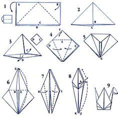 Steps To Make A Origami Swan - 1000 images about origami 折り紙 on origami