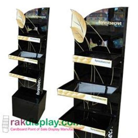 jasa rak display cosmetik oleh pt prima indo grafika