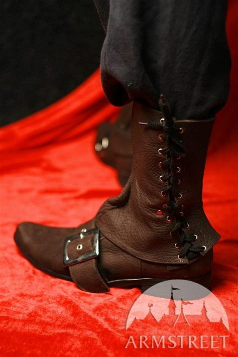 Handmade Leather Boots Renaissance - handmade soft pirate boots for sale by store