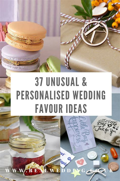 Wedding Favour Ideas by 37 Personalised Wedding Favour Ideas Real Wedding