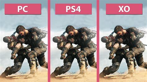 Mad Max Pc Original 1 mad max pc vs ps4 vs xbox one graphics comparison fullhd 60fps